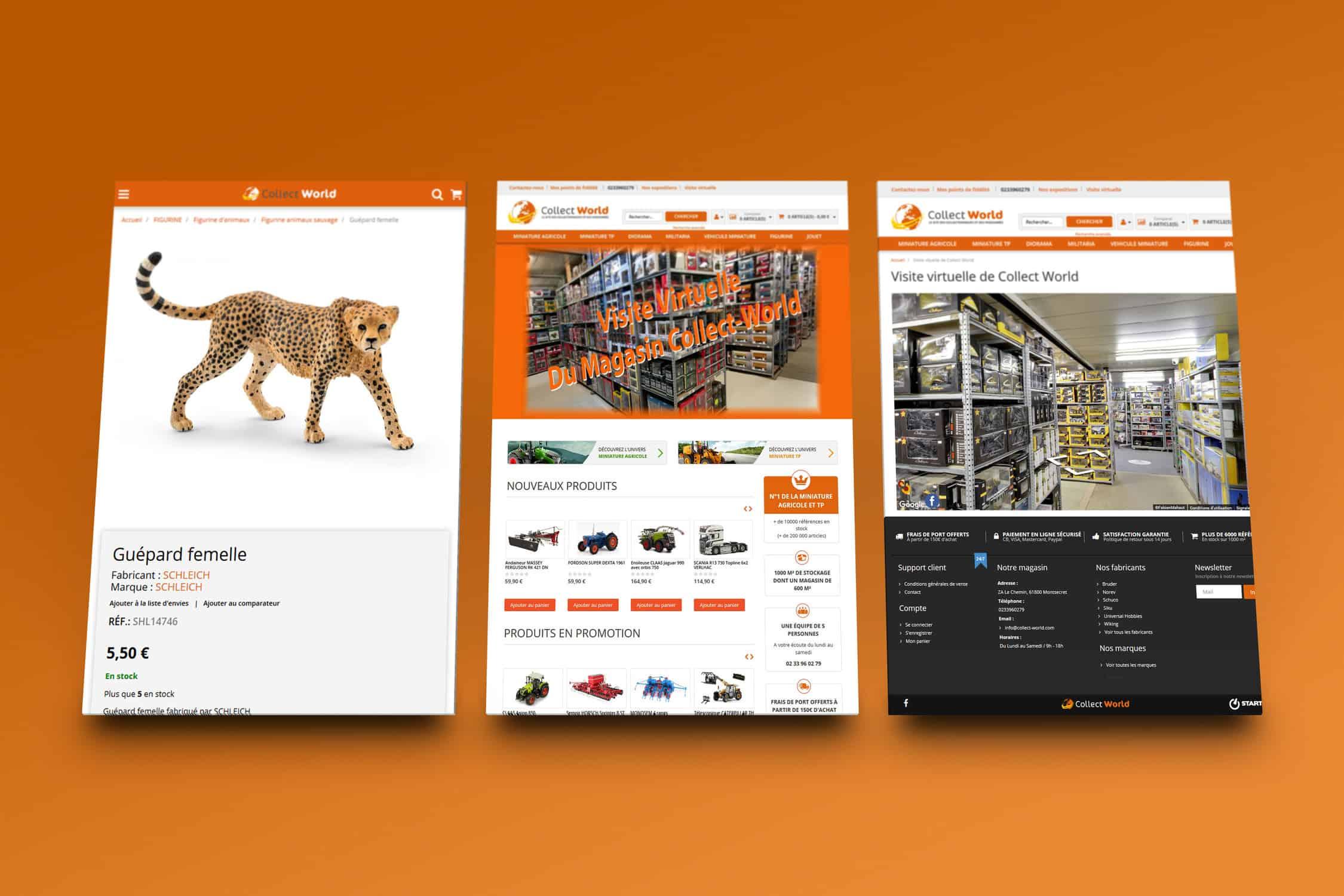 Collect world (e-commerce)